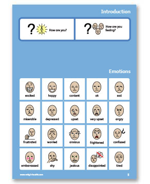 Emotions page