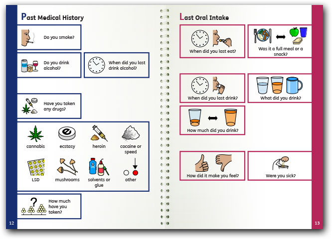 template booklet